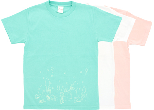 Wet Side : Night glow forest T-shirt, highlanders Limited edition