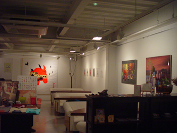 Exhibition report / cafe art Table & Sofa 2006.7.1~7.15