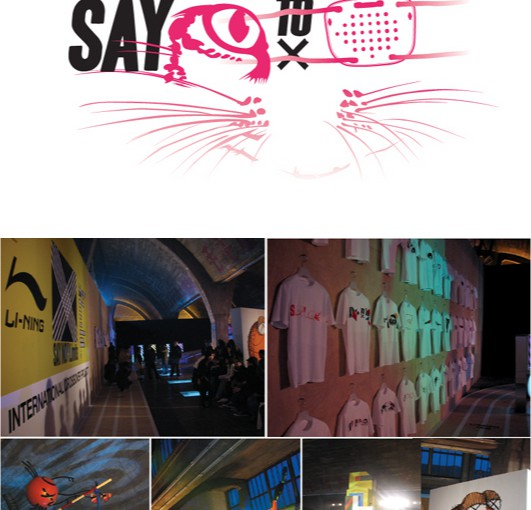 say no to limits! in Beijing