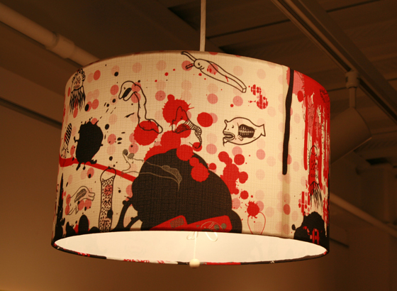 The ocean lamp shade