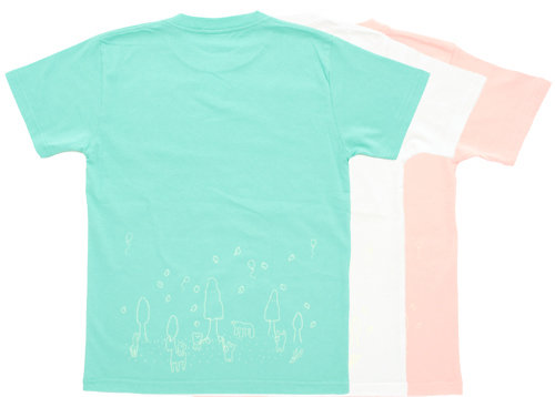 night glow forest t-shirt / highlanders Limited edition