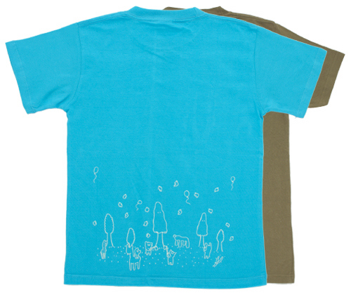 night glow forest t-shirt / summer Limited edition